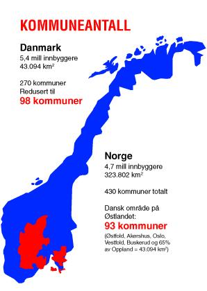 kommune kart norge Kommunekart Norge Danmark | LOKALSAMFUNNSFORENINGEN kommune kart norge