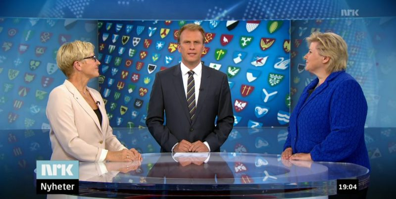 Debatten 800x404 - Debatt: Erna Solberg mot Liv Signe Navarset om tvangssammenslåing