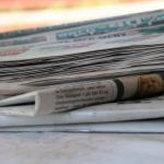 Tekst og avisutklipp