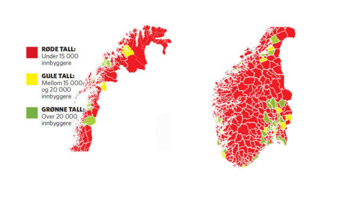 kommune norge - Det nye Kommune Norge
