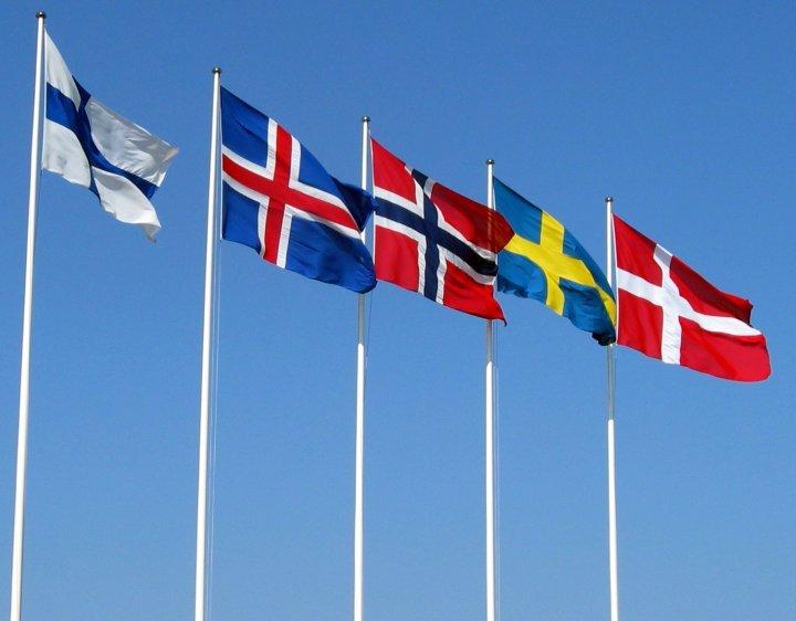 nordiske flagg - nordiske flagg