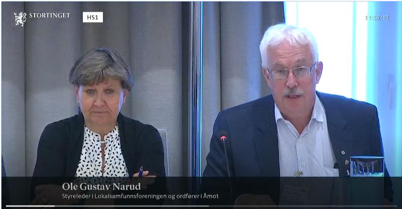 """LSF Ole Gustav Narud 1 - LSF: """"Kraftig angrep på viktige elementer i distriktspolitikken - stans endring av distriktsindeksen!"""""""