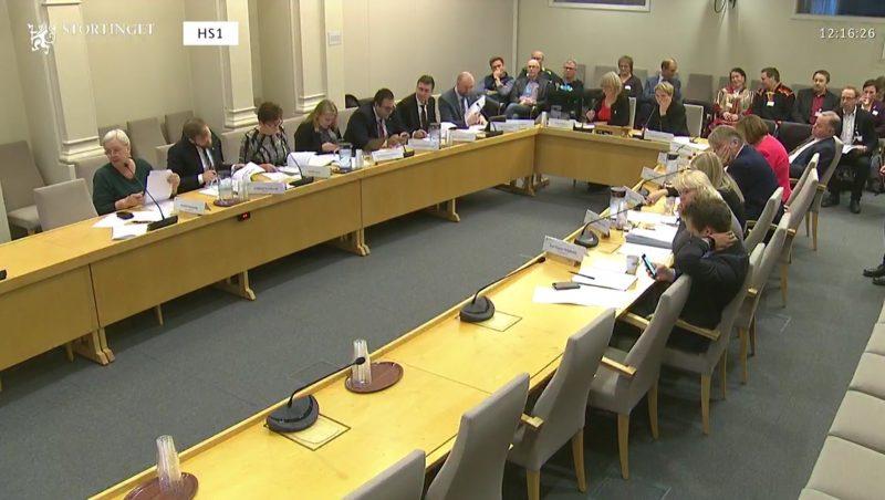 1283E0B5 DB85 48F4 B619 F4B0F2C8F678 800x452 - LSF deltok i høring på Stortinget - ønsker reversering av tvangssammenslåingsvedtak