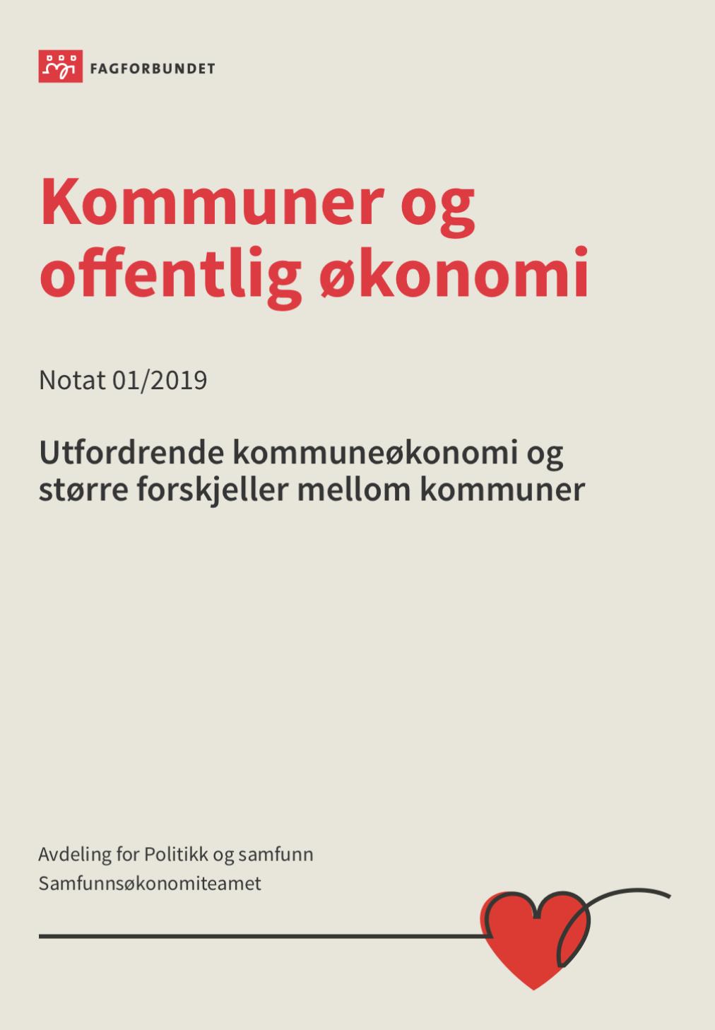 fullsizeoutput 725e - Fagforbundet: Samlet sett vil flere kommuner fåstore utfordringer i 2019