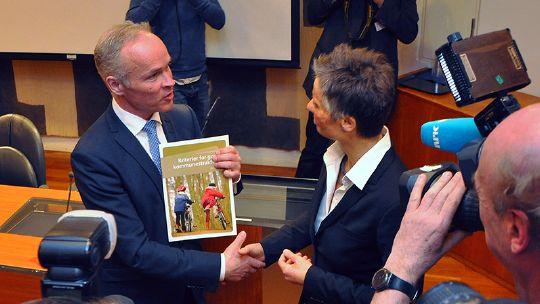 Sanner og Vabo - Kommunereformen 2014