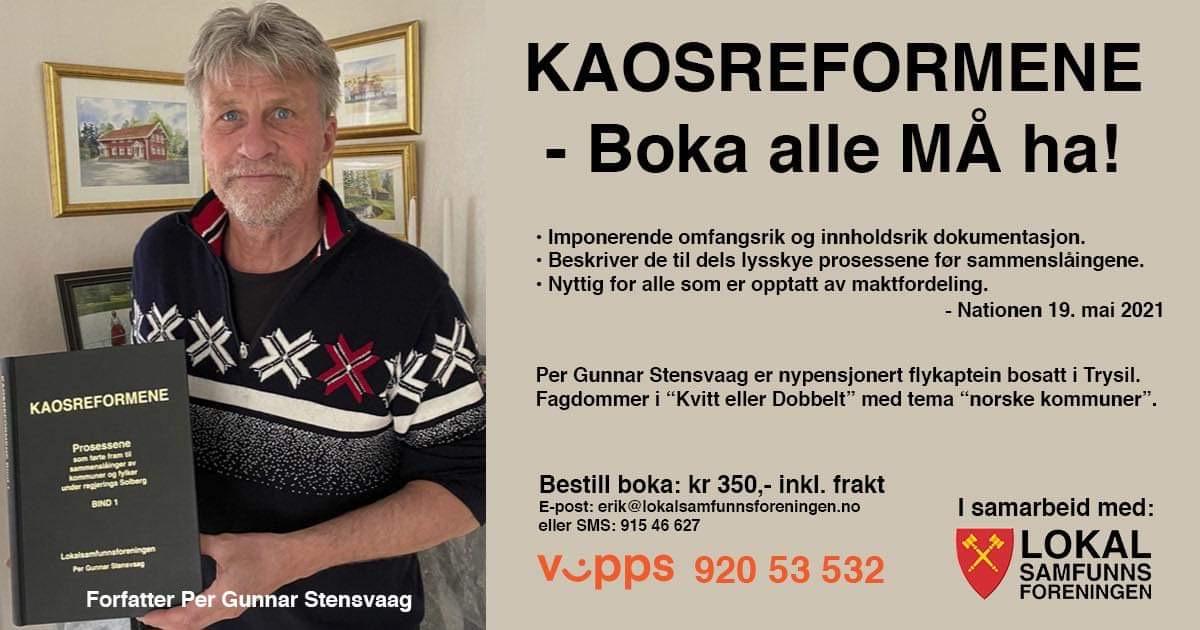 B37D04B3 3F93 492E A1E5 214052535A21 - KAOSREFORMENE av Per Gunnar Stensvaag - klikk her for gratis nettbok!